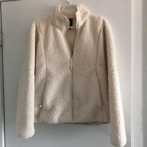 Champion Jackets & Coats - White Champion Teddy Coat